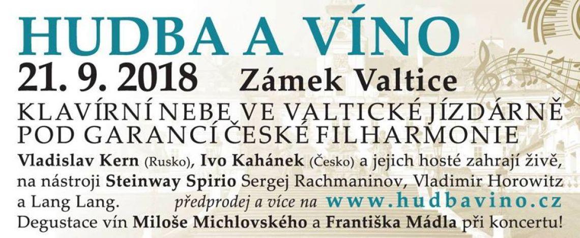 Hudba a víno v jízdárně zámku Valtice